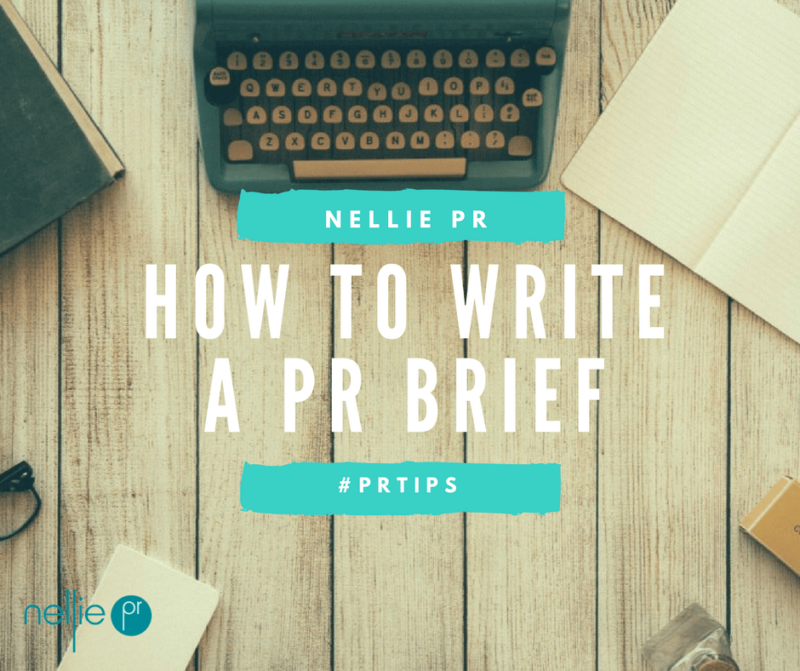 How to Write a PR Brief