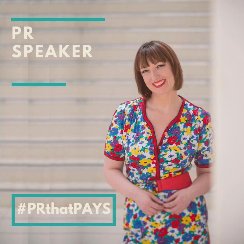 PR speaker
